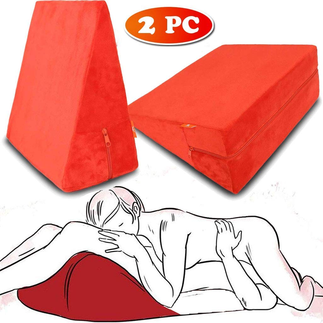 Rekink 2 x Sex Pillow Cushion Triangle for Couples