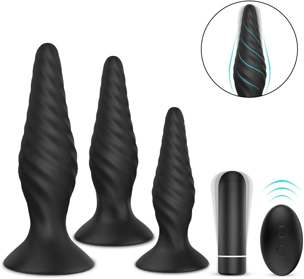 Acmeros Butt Plug Training Set (Best for Easier Insertion)