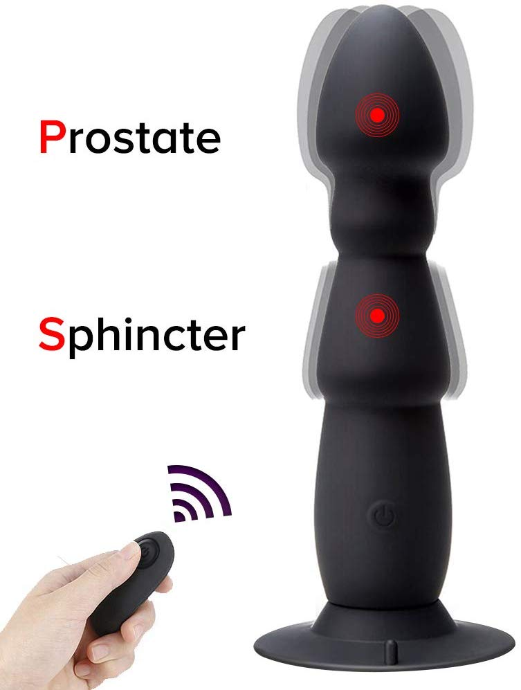 Alona Magic Vibrating Remote Control Butt Plug (Best for Wild Stimulation)